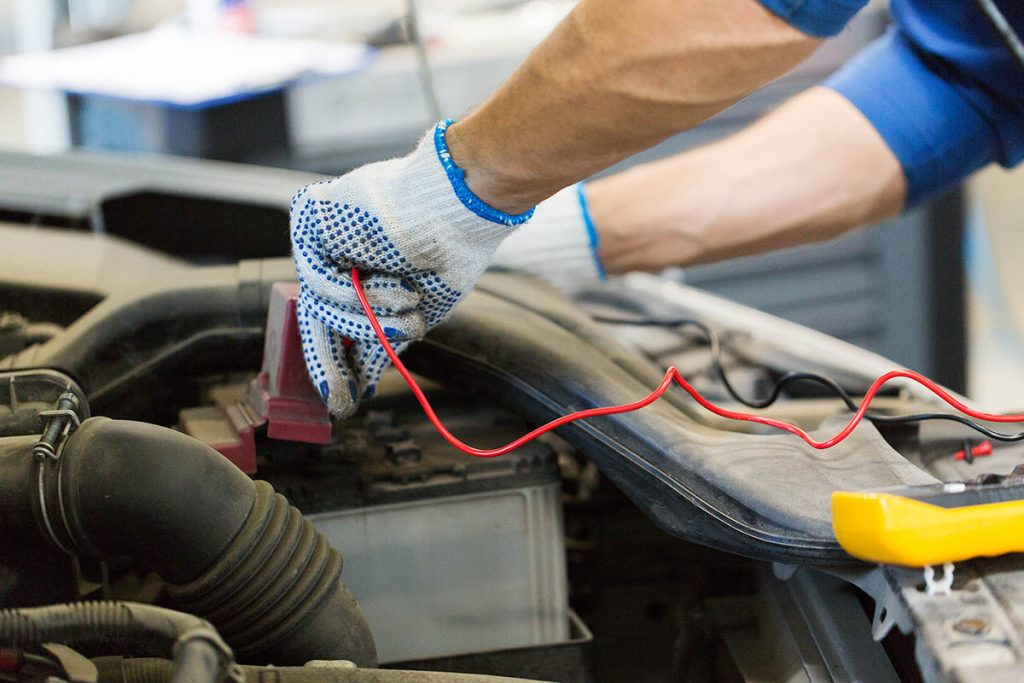 car battery change UAE